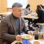 Депутаты «Единой России» проверили организацию питания школьников в Павловском Посаде