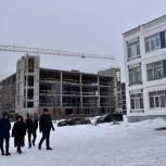Депутаты Балашихи проверили ход возведения пристройки к школе к школе № 6 в микрорайоне Саввино