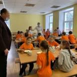 Игорь Коханый проверил организацию горячего питания школьников в Люберцах