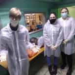 Волонтеры оказывают помощь областной больнице