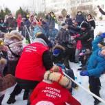 «Единая Россия» провела в Рузском городском округе «Игры нашего двора»