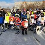В Энгельсе состоялся хоккейный турнир среди детских команд