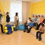 Акцию «Спорт каждый день» провели активисты в химкинском социально-реабилитационном центре для детей