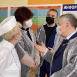 Депутаты Солнечногорска проверяют качество питания в школах округа
