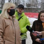 Оксана Пушкина обсудила с жителями Звенигорода реконструкцию стадиона «Спартак»