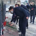 В Ленинском районе прошли памятные мероприятия, посвященные 78-й годовщине освобождения города от немецко-фашистских захватчиков