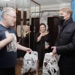 Сергей Двойных поддержал семью из Сергиева Посада, в которой муж и жена потеряли работу
