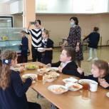 Вячеслав Крымов принял участие в проверке наличия и качества горячего питания в домодедовских школах
