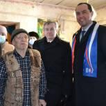 «Единая Россия» поздравила ветеранов Скопина и Пронска