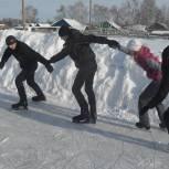 «Детский спорт»: катки есть практически в каждом селе Петровского района