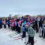 В Башкирии прошли соревнования  «Лыжня России-2021»