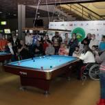 Во Владивостоке состоялся первый этап краевого чемпионата по бильярду для людей с ОВЗ