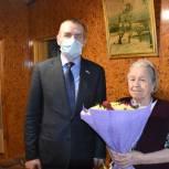 Михаил Вдовин поздравил с 90-летием жительницу Орла