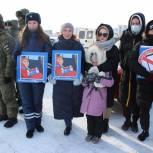 Елена Кашкарова поздравила участников соревнования «Спецоперация Лёд» с мужским праздником - Днем защитника Отечества
