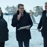 Новая спортивная площадка появится в селе Никольское