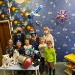 Королёвские единороссы посетили «Космическую выставку» в детском саду