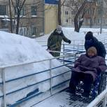 """""""Единая Россия"""" помогла пожилой женщине-инвалиду"""