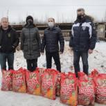 Михаил Романов передал пострадавшему от пожара зооприюту 200 килограммов корма