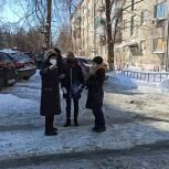 Активисты партпроекта зафиксировали нарушения при уборке снега в Туле