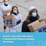 Пройдите опрос о развитии волонтерского движения в России