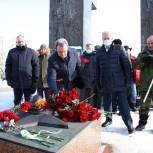 Валерий Лидин принял участие в памятном митинге