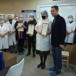 Никита Чаплин с рабочим визитом приехал в городской округ Луховицы