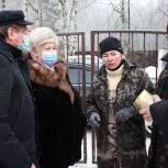 Депутаты Ивгордумы передали в приют «Майский день» две тонны корма для животных