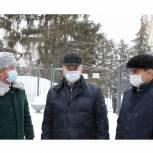 Руководители региона посетили выставку новой лесопожарной техники