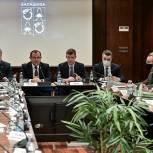 Вакцинация граждан, перепись населения, бюджет - Игорь Брынцалов провёл встречу с руководителями предприятий