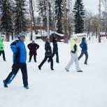 «Детский спорт» в Коми провел открытую зарядку для всех желающих на свежем воздухе
