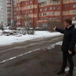 Региональный координатор партпроекта проверил качество уборки и ремонта дорог Рязани