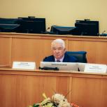 Председатель Тюменской облдумы Сергей Корепанов встретился с депутатом Госдумы Анатолием Карповым