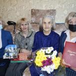 С юбилеем старожила Колымы поздравили  партийцы Палатки