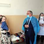Висампаша Ханалиев с рабочим визитом посетил ЦГБ в Хасавюрте