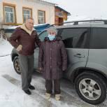 В Сасовском районе депутат отвез пенсионерку на прием в поликлинику