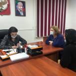 Зумруд Бучаева провела приём граждан в Буйнакске