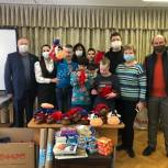 Муниципальные депутаты Можайского района привезли подарки воспитанникам детского дома