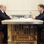 Андрей Турчак и Михаил Мишустин обсудили выполнение поручений Президента по итогам первого Социального онлайн-форума «Единой России»