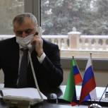 Марис Ильясов рассмотрел обращения махачкалинцев в формате онлайн