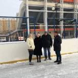 «Единая Россия» держит на контроле заливку катков в Балашихе