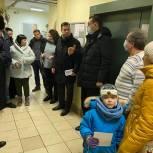 Сергей Керселян встретился с жителями Королёва по вопросу работы лифтов