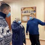Единороссы обсудили в Великовисочном сельсовете проблемы сельских поселений