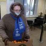 Депутаты привезли витаминную помощь для сотрудников Никольского отделения одинцовской больницы