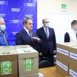 Медикам из «красных зон» пензенских поликлиник доставили продуктовые наборы