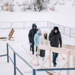 Андрей Булгаков проверил подготовку купелей в Щелково