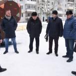Единороссы Сергиева Посада проверили содержание территорий микрорайона Ферма