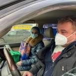 Около 50 тысяч выездов совершили автоволонтёры «Единой России» в первые недели января