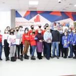 Оксана Пушкина встретилась с Можайскими волонтерами