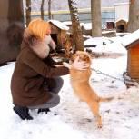 Ольга Тимофеева оказала помощь ставропольскому приюту для животных