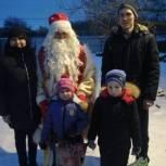 Детям медработников Александро-Невского района  вручили подарки